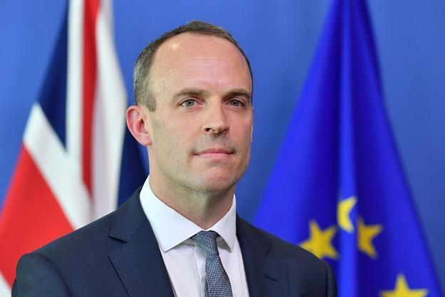 Dominic Raab, brytyjski minister ds. brexitu /AFP
