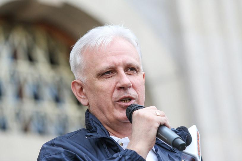 Dominik Kolorz, szef śląsko-dąbrowskiej Solidarności /Tomasz Kawka /Agencja SE/East News