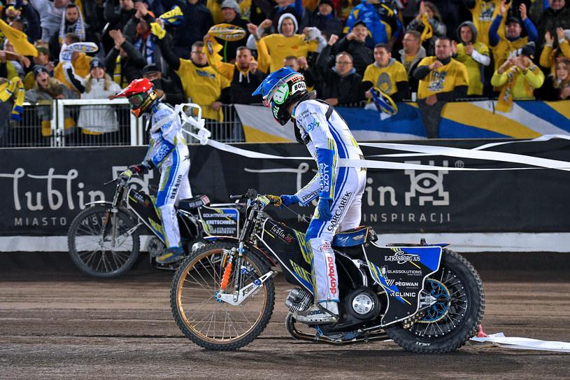 Dominik Kubera i Mikkel Michelsen /Przemysław Gąbka /Flipper Jarosław Pabijan