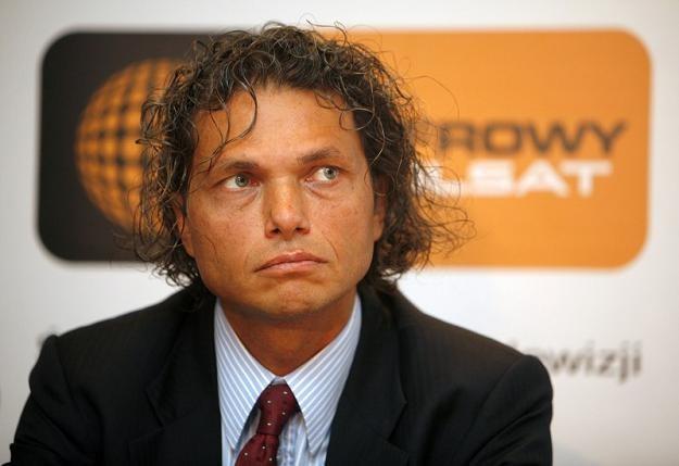 Dominik Libicki, prezes Cyfrowego Polsatu. Fot. Andrzej Stawiński /Reporter