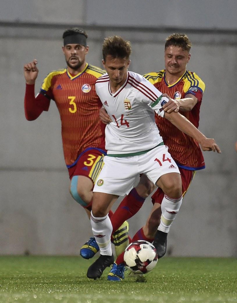 Dominik Nagy ma na koncie występy w reprezentacji Węgier /AFP