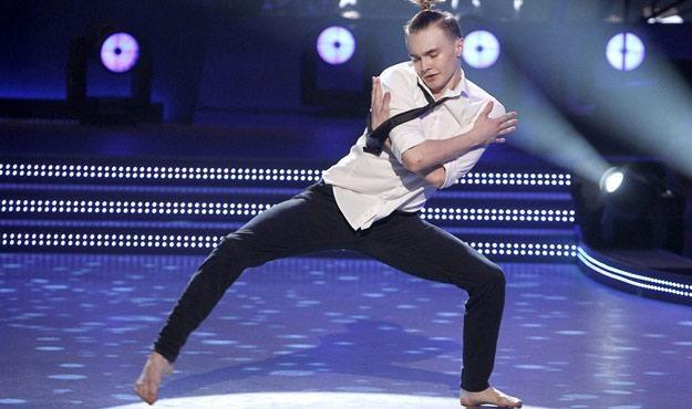 Dominik Olechowski urzekł widzów swoją naturalnością, skromnością i pięknym tańcem /AKPA