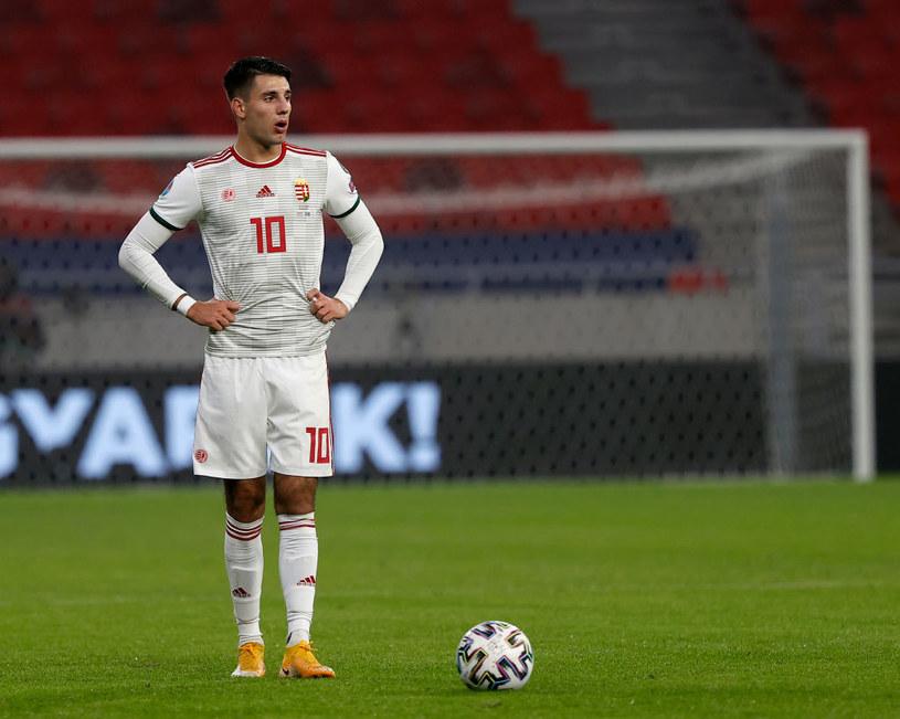 Dominik Szaboszlai prawdopodobnie zagra na EURO. /Laszlo Szirtesi /Getty Images