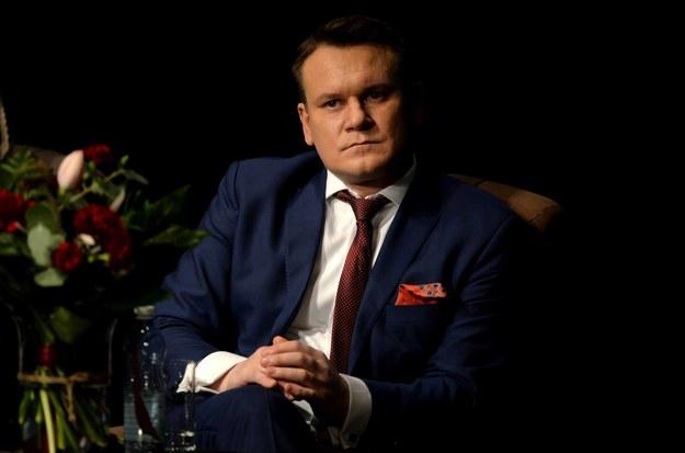 Dominik Tarczyński / Piotr Polak    /PAP