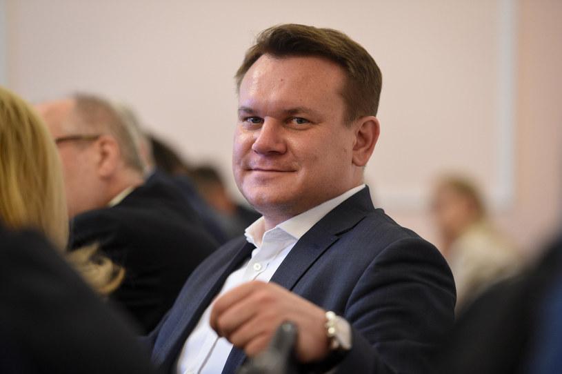 Dominik Tarczyński /Jacek Dominski/REPORTER /Reporter