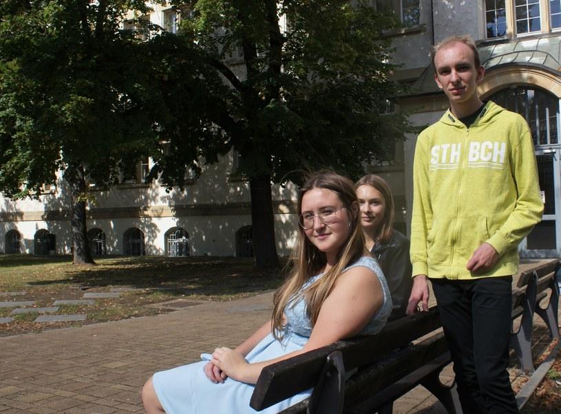Dominika, Ala i Julian uczą się w Niemczech. Fot. Agnieszka Hreczuk /