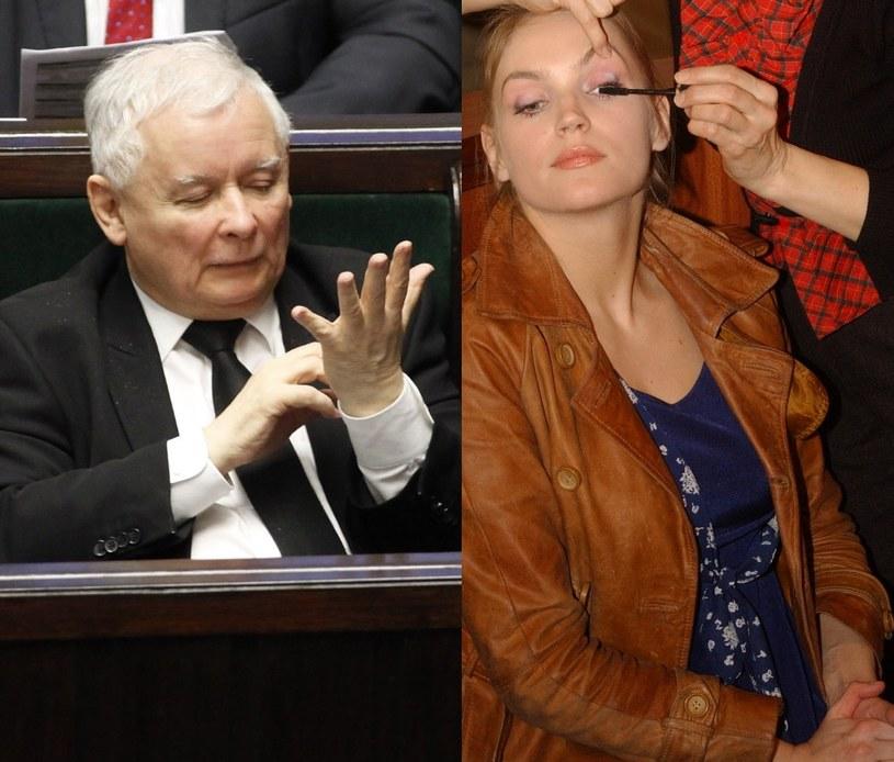 Dominika Figurska była w Komitecie Honorowym Kaczyńskiego! /- /East News