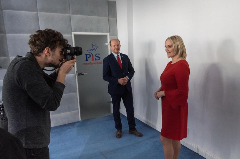 Dominika Figurska-Chorosińska i Konstanty Radziwiłł /Jacek Dominski/REPORTER /East News