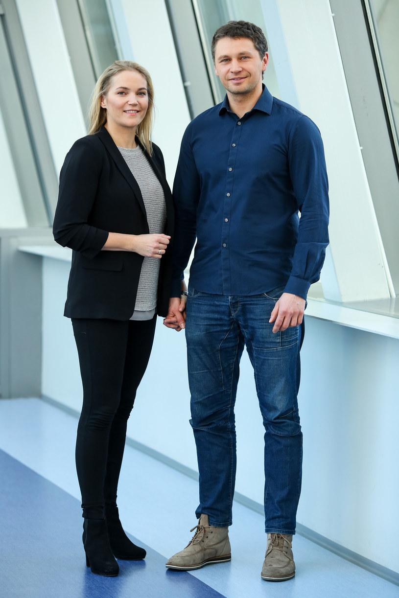 Dominika Figurska i Michał Chorosiński /Jarosław Kuczyk /Agencja FORUM