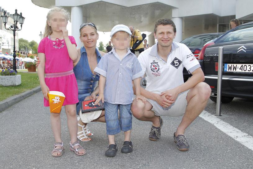 Dominika Figurska i Michała Chorosiński mają piątkę dzieci /Engelbrecht /AKPA