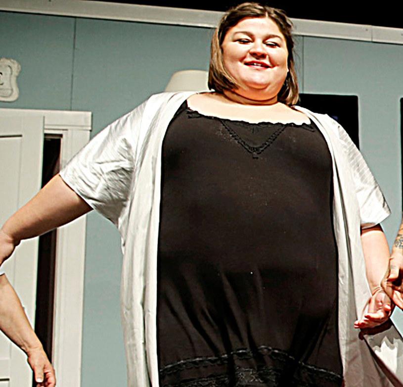 Dominika Gwit lubi siebie w każdym rozmiarze /Kurnikowski /AKPA