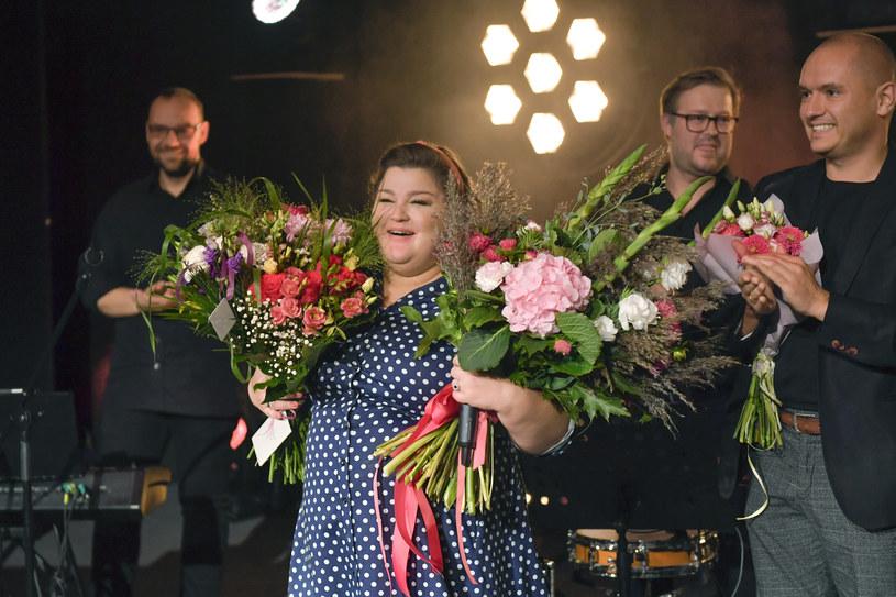 Dominika Gwit na premierze stand-upu /Gałązka /AKPA