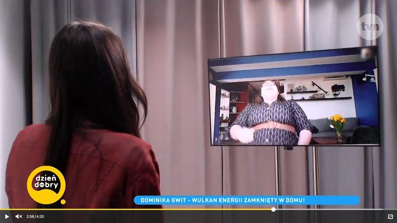 Dominika Gwit (Screen: dziendobry.tvn.pl) /brak /materiał zewnętrzny