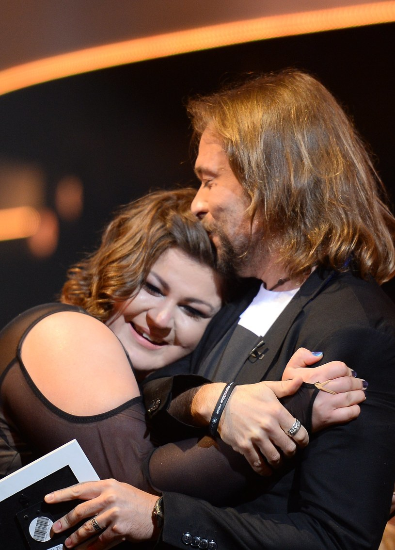 Dominika Gwit z mężem /Jarosław Antoniak /MWMedia