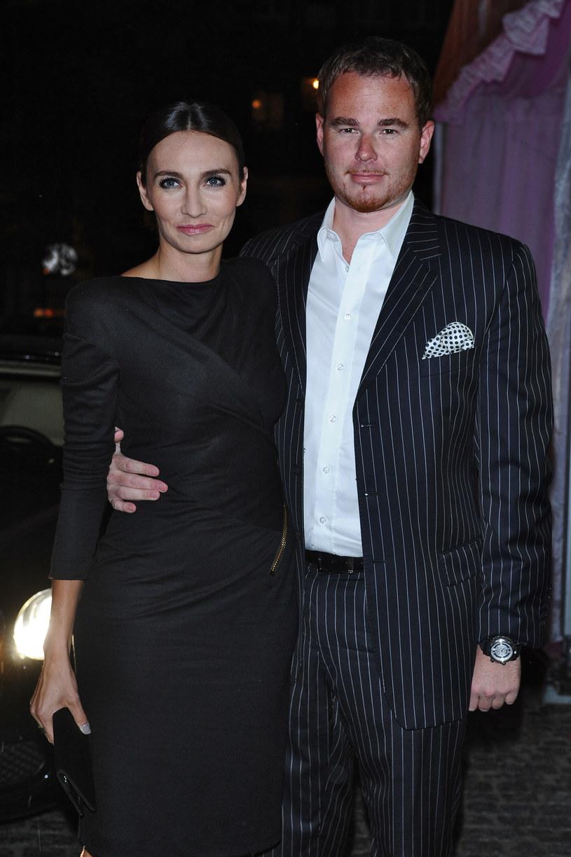 Dominika Kulczyk i Jan Lubomirski /- /MWMedia