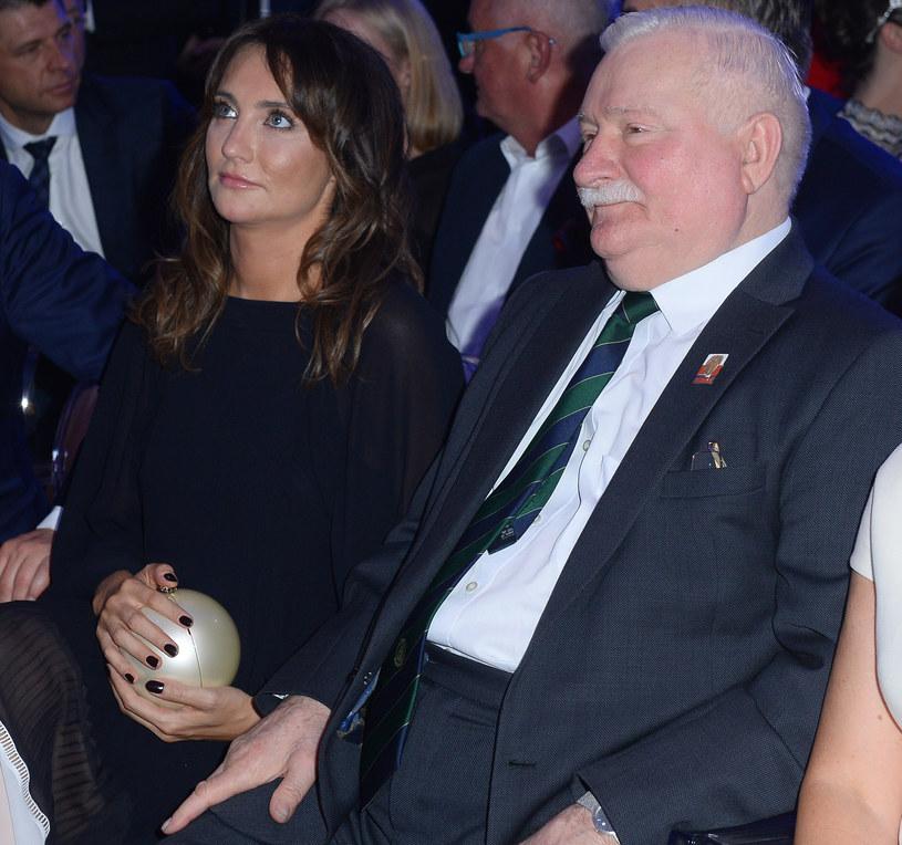 Dominika Kulczyk i Lech Wałęsa /Jarosław Antoniak /MWMedia
