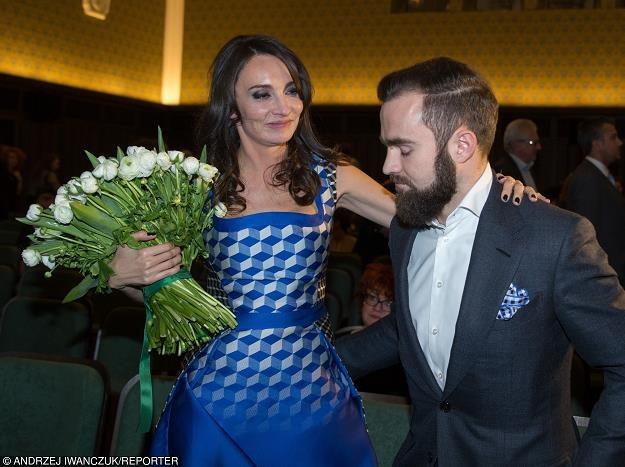 Dominika Kulczyk i Sebastian Kulczyk. Fot. Andrzej Iwańczuk /Reporter
