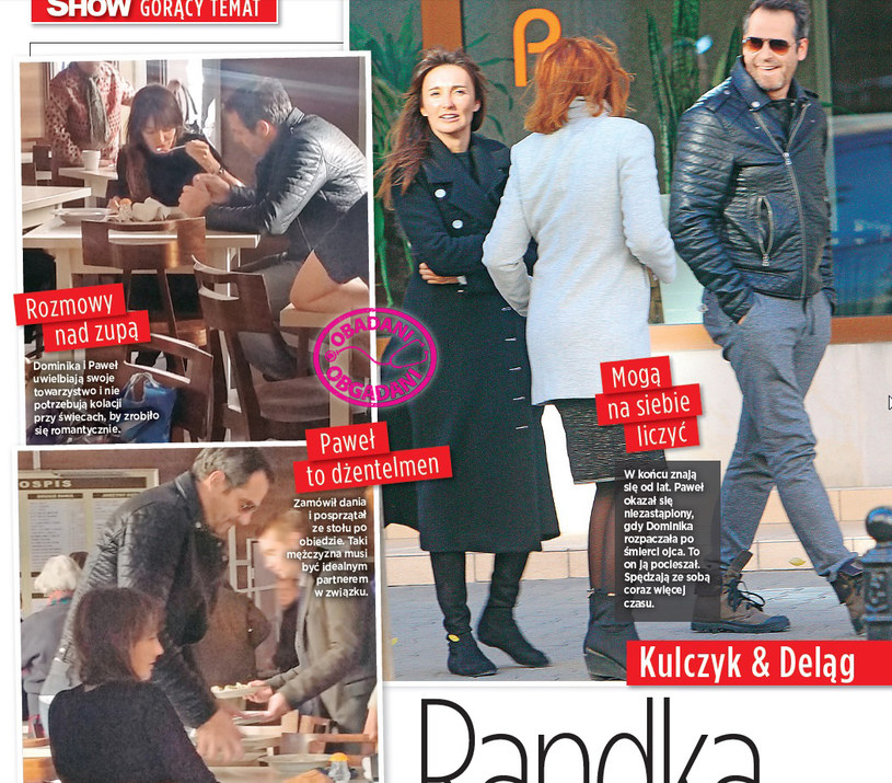 Dominika Kulczyk zjedli obiad w barze mlecznym /Show