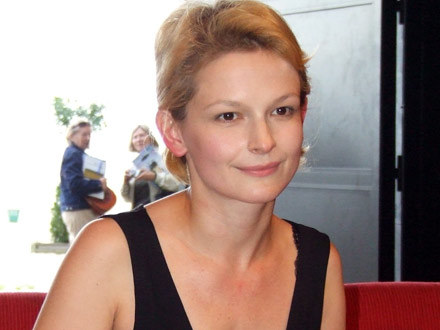 "Dominika Ostałowska, bohaterka serialu ""Regina"", fot. Wojciech Walder /MWMedia"