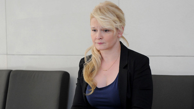 """Dominika Ostałowska w serialu """"O mnie się nie martw"""" /Agencja W. Impact"""