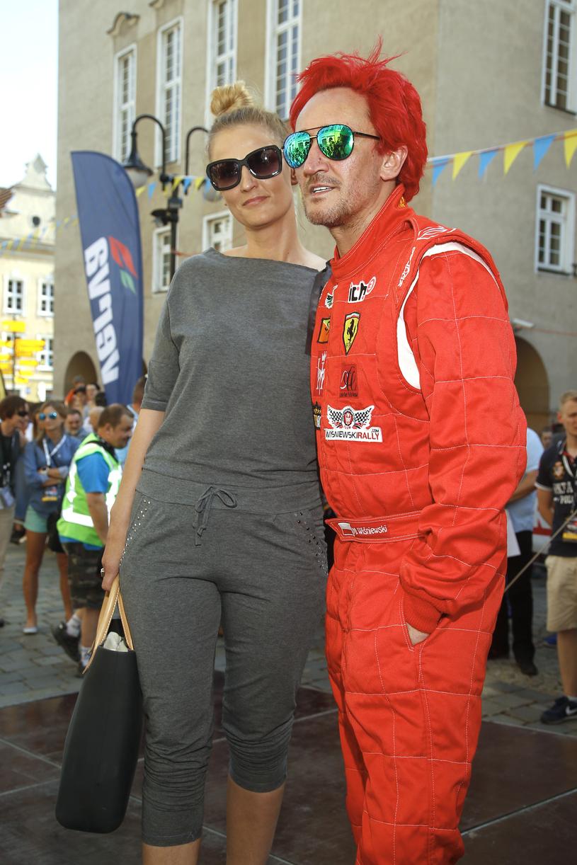 Dominika Tajner-Wiśniewska i Michał Wiśniewski /Krzemiński Jordan /AKPA