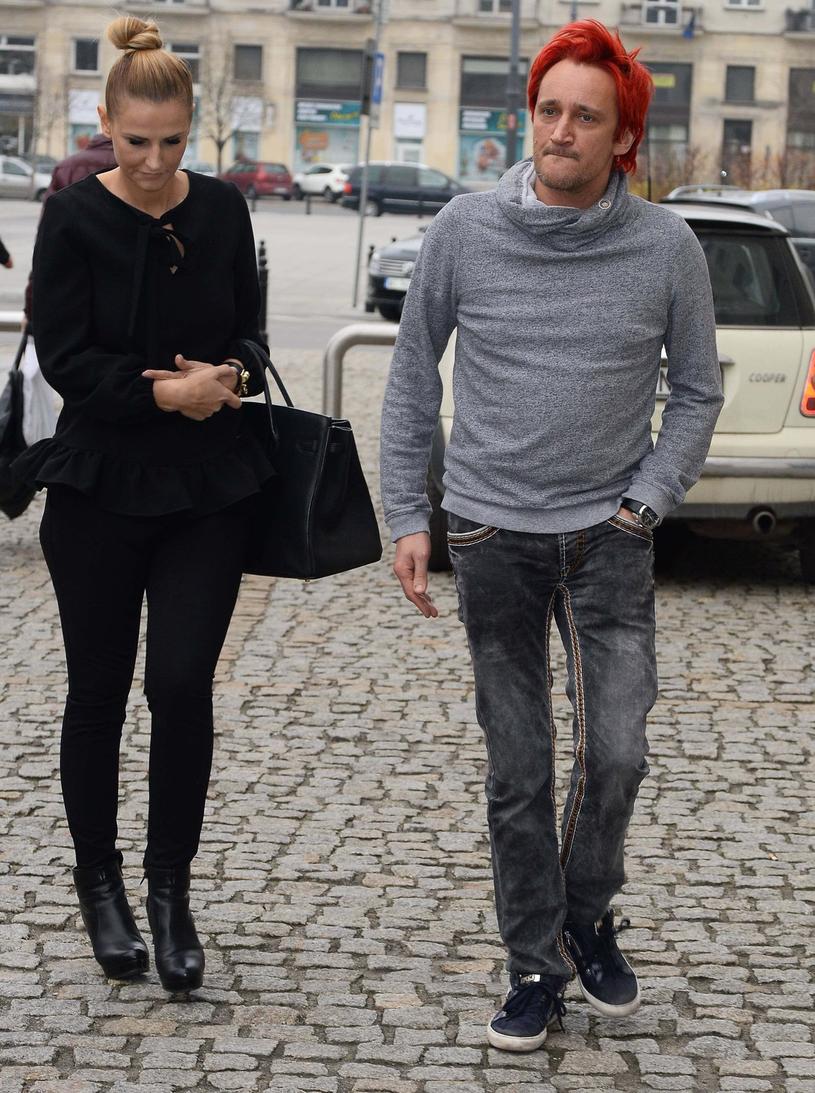 Dominika Tajner-Wiśniewska i Michał Wiśniewski /East News