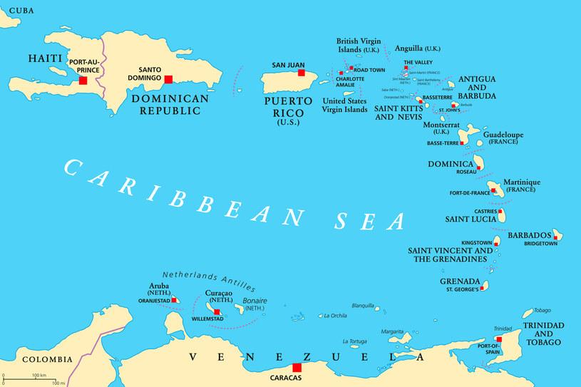 Dominika wchodzi w skład archipelagu Małych Antyli /123RF/PICSEL