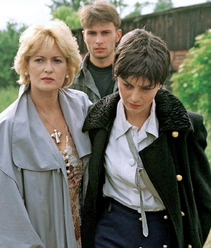 Dominika Wojciechowska (Małgorzata Foremniak) i Łucja Maj (Ewa Kasprzyk) Relacje między córką a matką były bardzo skomplikowane... /Świat Seriali