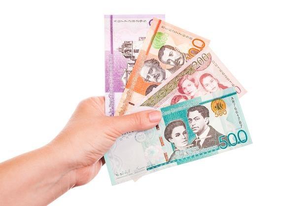 Dominikana banknoty /©123RF/PICSEL