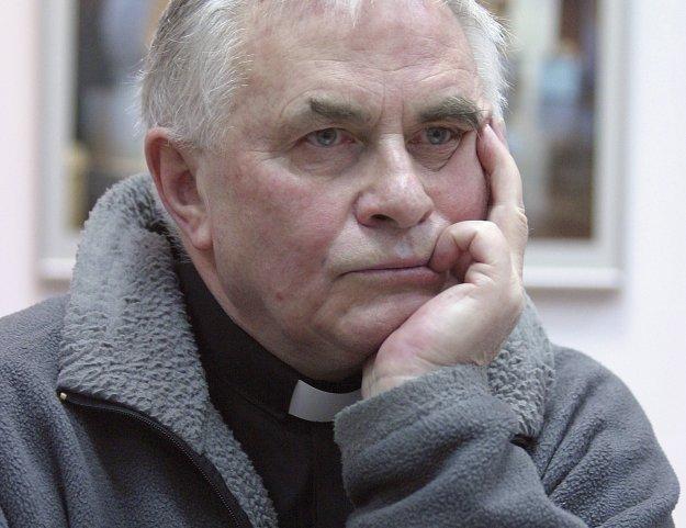 Dominikanin o. Ludwik Wiśniewski, fot. Krzysztof Kuczyk /Agencja FORUM