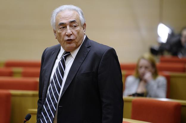 Dominique Strauss-Kahn, b. szef MFW /AFP