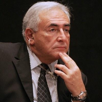 Dominique Strauss-Kahn, dyrektor wykonawczy Międzynarodowego Funduszu Walutowego /AFP