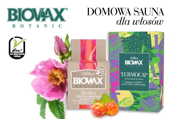 Domowa sauna dla włosów Biovax /materiały prasowe