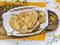 Domowe chlebki z oregano i kukurydzą