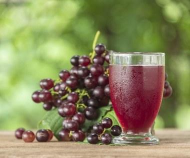 Domowy sok z winogron - przepis i właściwości