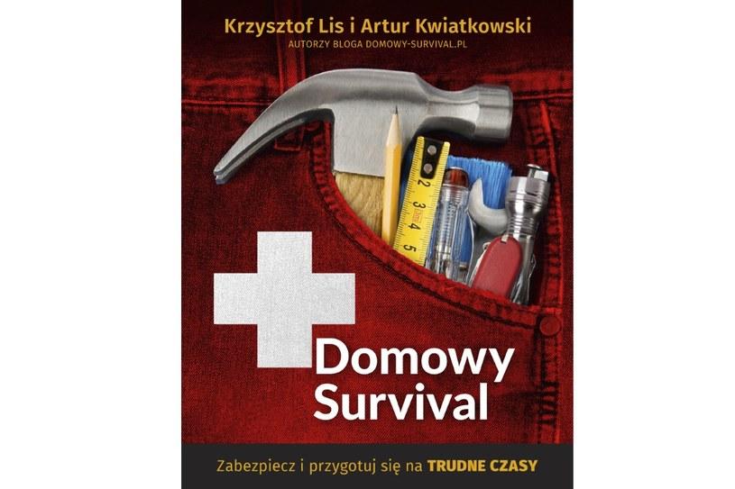Domowy survival - okładka książki /materiały prasowe