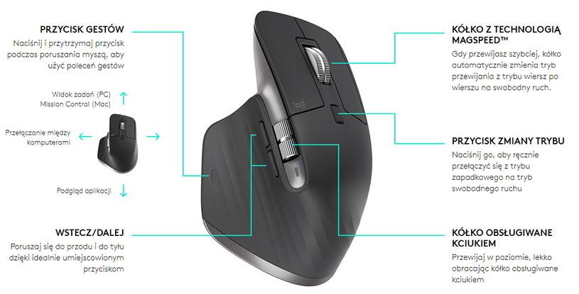 Domyślne ustawienia przycisków myszy /materiały prasowe