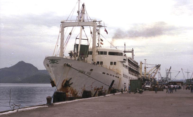 Dona Paz w dokach Tacloban City. Fot. Wikipedia /INTERIA.PL/materiały prasowe