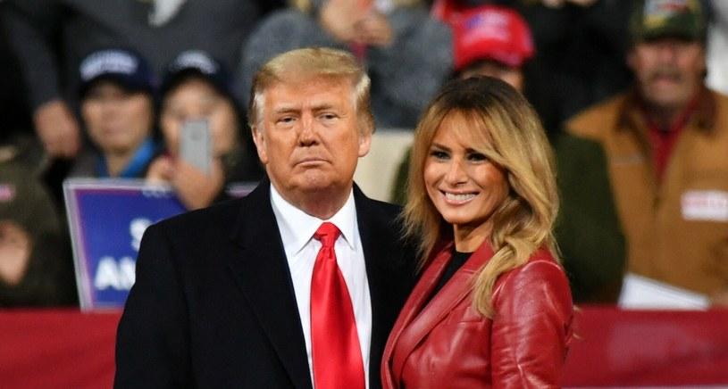 Donald i Melania Trump ostatnie cztery lata spędzili w Białym Domu /AA/ABACA /East News