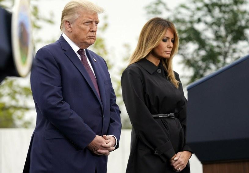 Donald i Melania Trump podczas pełnienia obowiązków /AP/Associated Press/ /East News