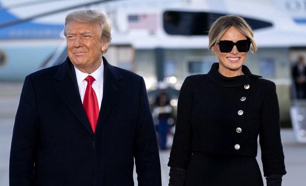 Donald i Melania Trump /Stefani Reynolds / POOL /PAP/EPA
