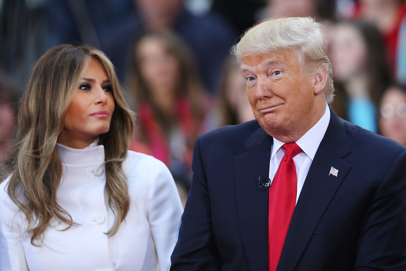 Donald i Melania Trumpowie /Spencer Platt /Getty Images