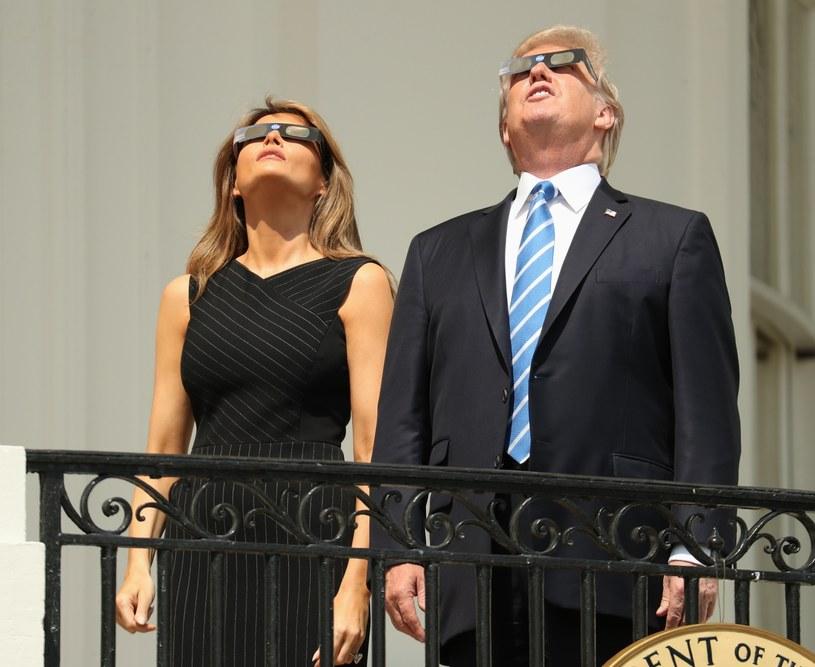 Donald i Melania Trumpowie /East News