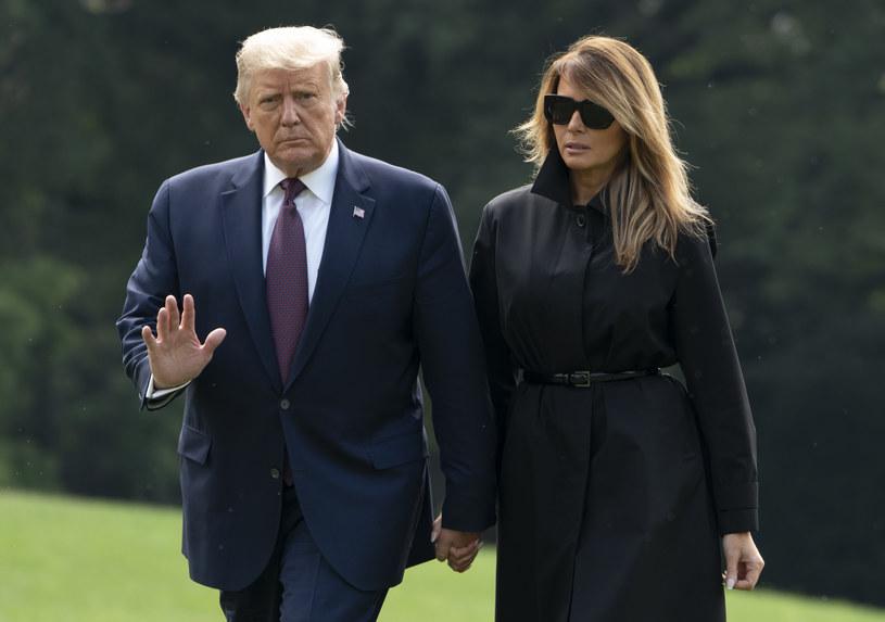 Donald i Melania Trumpowie /AFP