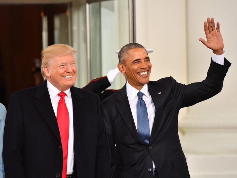 Donald Trump i Barack Obama /KEVIN DIETSCH/POOL, PAP/EPA /PAP/EPA