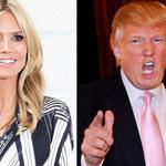 Donald Trump i Heidi Klum nadal w konflikcie! Topmodelka odpowiada na krytykę swojej urody!