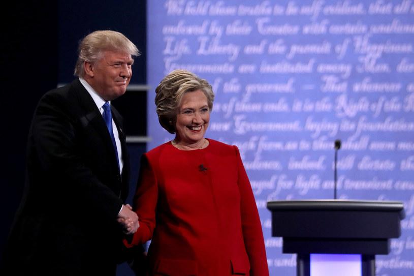 Donald Trump i Hillary Clinton - kandydaci na prezydenta USA /Getty Images