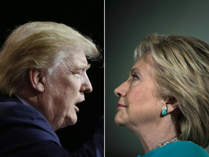 Donald Trump i Hillary Clinton - kto zostanie prezydentem USA? /Brendan Smialowski Jay LaPrete /AFP
