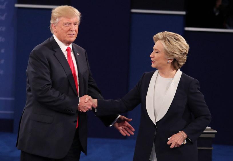 Donald Trump i Hillary Clinton /PAP/EPA