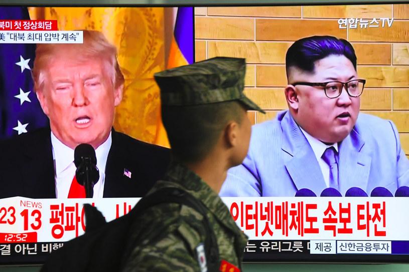Donald Trump i Kim Dzong-Un spotkają się w Singapurze /AFP